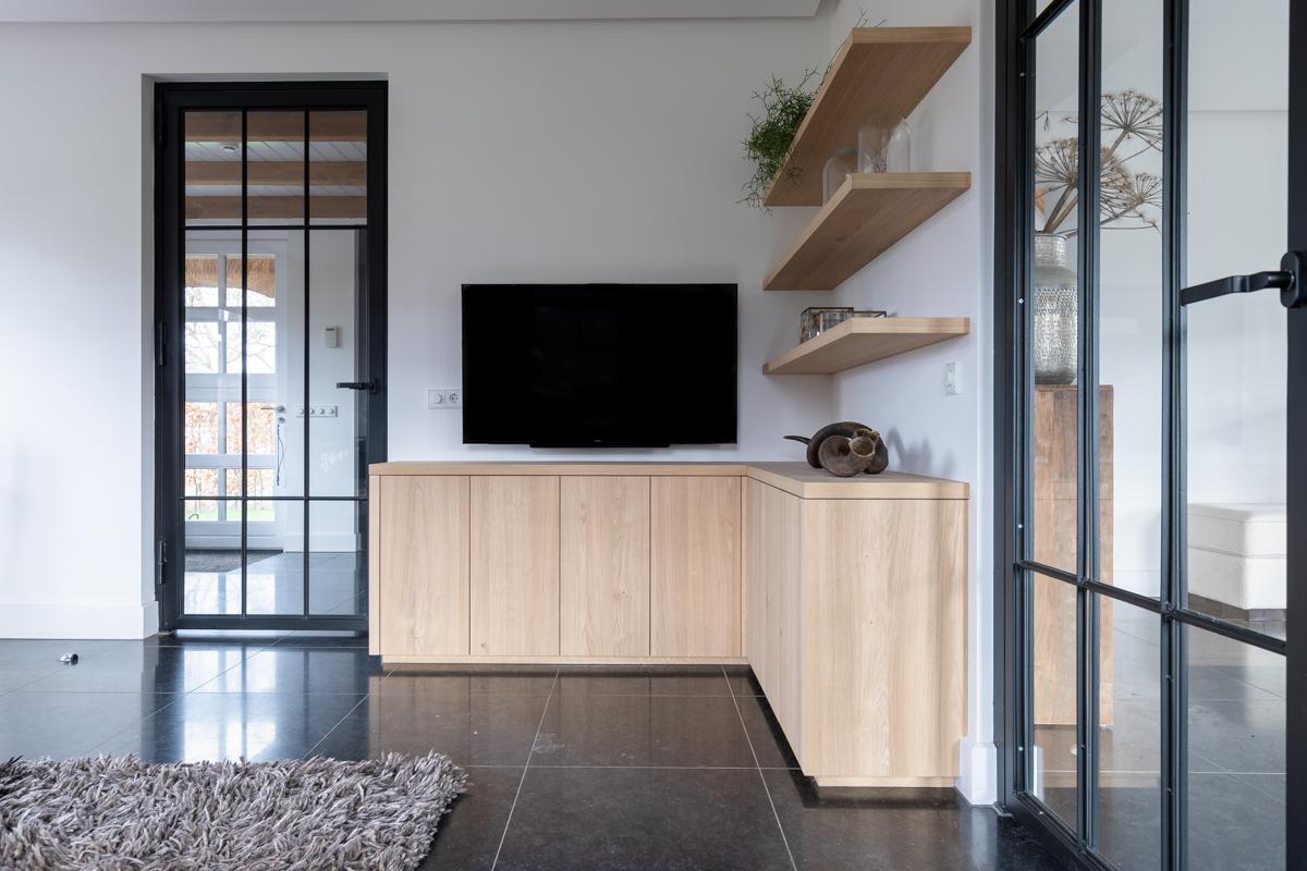 Maatwerk TV meubel in Limmen